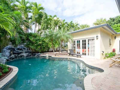 Photo for NOVEMBER SPECIAL! Beach house within one block to beach. POOL /SUPER HEAT AVAIL.