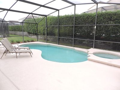 Photo for Villa with own pool/spa. Gated Resort near Disney. Beautifully furnished