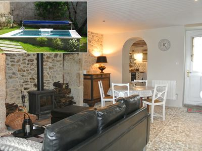 Photo for La Maison d'Eugenie, private and heated swimming pool, near Lascaux