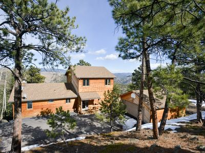 Photo for Amazing Private Mountain Home With The Best Views - 55 Min From Denver