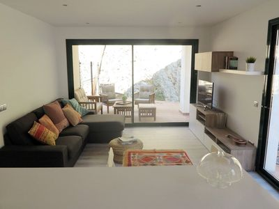 Photo for <![CDATA[101.40_New construction apartment with two double bedrooms and a big terrace in the entrance of Cadaqués]]>