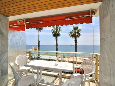 Photo for IBERIA - 3 rooms Seafront- Terrace with panoramic seaview