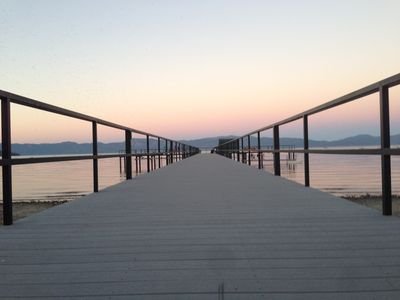 Photo for TAHOE LAKEFRONT + Walk to Tahoe City + Pier w/Buoys & Pier Attendant/Pool/Tennis