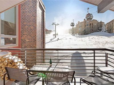Photo for Assay Hill ski-in/ski-out condo with a shared pool and hot tub