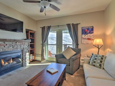 Photo for Ski-In/Ski-Out Granby Ranch Condo w/ Mountain View