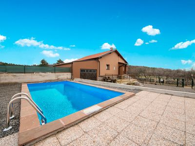 Photo for This 2-bedroom villa for up to 5 guests is located in Senj and has a private swimming pool and Wi-Fi
