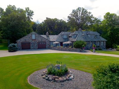 Photo for A Stunning Lakefront Retreat on Lake Mille Lacs