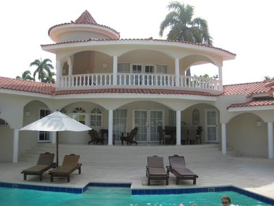 Photo for Puerto Plata, Dominican Republic Luxury Six Bedroom Villa