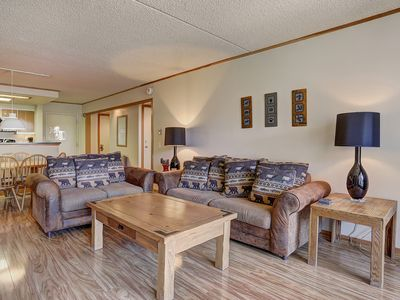 Photo for Spacious Gold Rated 1 Bedroom Condo Tucked Away in the Pines!