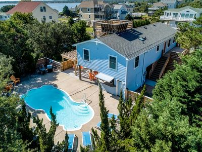 Photo for Let's Do Sunset | 3170 ft from the beach | Private Pool, Dog Friendly | Kill Devil Hills