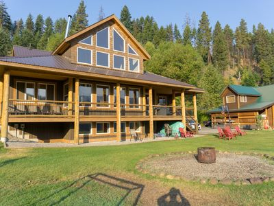 Photo for Family Friendly Jackpine Cabin,  Over 3600 sq ft of living space (New Owners)