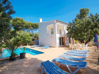 Photo for El Pinar - sea view villa with private pool in Moraira