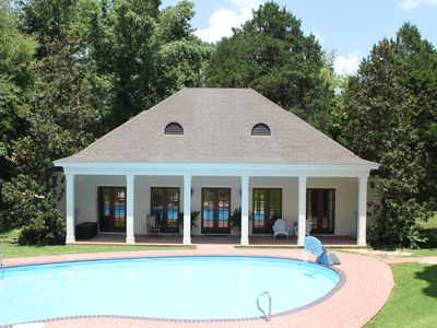 Photo for Getaway Guest House 1.5 miles from Ole Miss with a pool