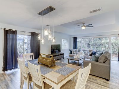 Photo for Dog-friendly remodeled home w/ private patio, new furnishings & shared pool!