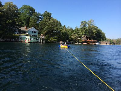 Photo for Waterfront house on Lake George - 5BR, 4Baths, family friendly, dog friendly