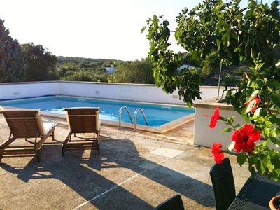 Photo for large secluded villa with pool, 10 minutes drive to the beach, 3 km from Ostuni