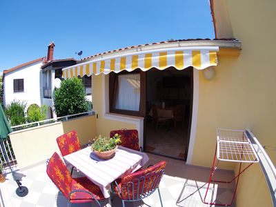 "Photo for Holiday apartment ""Pineta"" in village Valbandon"