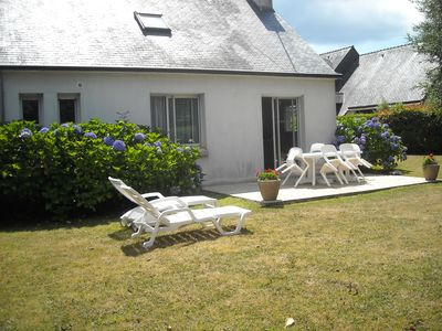 Photo for House 5 minutes walk from the beach of Cap Coz