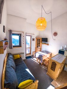 Photo for La Rosière - Apartment for 6 people with balcony and garage near the slopes