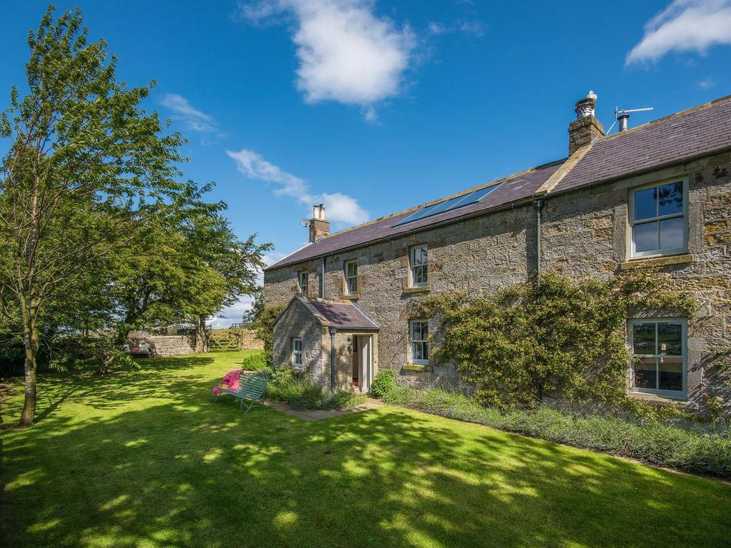Overthwarts Farmhouse Five Bedroom Nr Alnwick 9 Miles