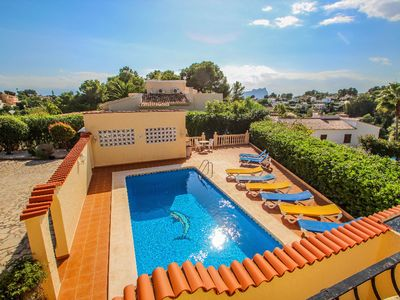 Photo for Simon - pretty holiday property with private pool in Benissa