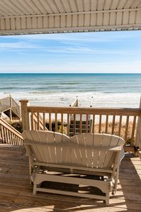 Relax on one of the decks overlooking the beach and Atlantic Ocean!
