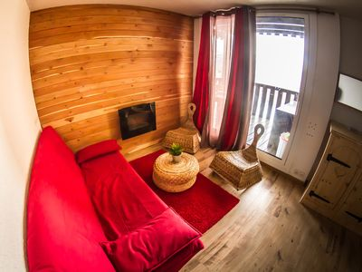 Photo for Cozy studio fully equipped in Pra Loup 1500