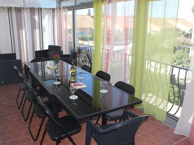 Photo for Holiday Accommodation in a villa near the beach, Canet Plage