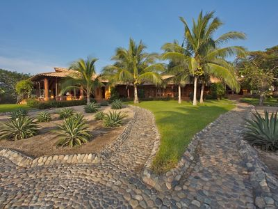 Photo for Casa Las Tejas - Beachfront Mexican Villa