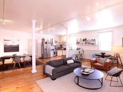 Photo for Beautifully Restored 1820s Industrial Loft Living On A Creek