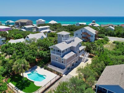 Photo for Panoramic Gulf Views! Private Heated Pool! Newly Renovated! Rooftop Terrace!
