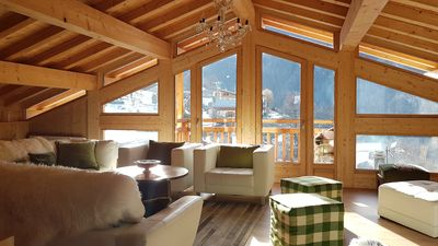 Photo for Large stunning refurbished chalet in Les Arcs