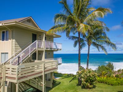 Photo for Beautiful oceanfront 2 br for 6villa w/ breathtaking views!