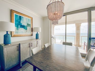 Photo for Chic New 3 Bedroom, 3 Bath | Gulf Front Balcony | Walking Distance to Boardwalk