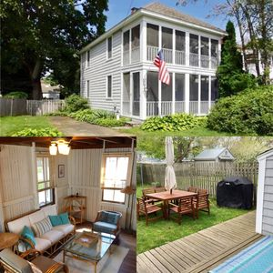 "Photo for ""MAYFLOWER COTTAGE"" in Saybrook Manor, 2 blocks from beach!  PRIME WEEKS AVAIL"