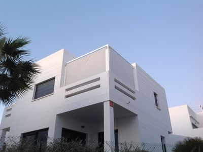 Photo for APARTMENTMODERN 74M2 RESIDENTIAL WITH SWIMMING POOL- GOLF-MER-ANIMATIONS- SHOPS