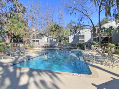 Photo for New to Market Beach Oriented Townhome, Free Bikes, Tennis, Pool, 80OB