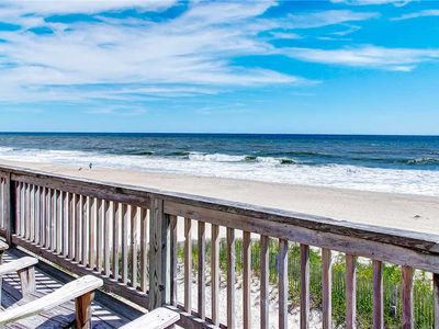 Photo for Right on the Beach! Oceanfront, Rodanthe-Pool, Tiki Bar, Grill, Hot Tub, Game Rm