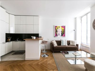 Photo for Modern flat a few steps from Champs-Elysées!