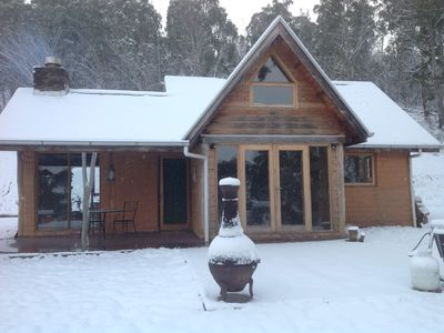Photo for Stunning, self contained 2 bedroom mud brick cottage in a high country side!