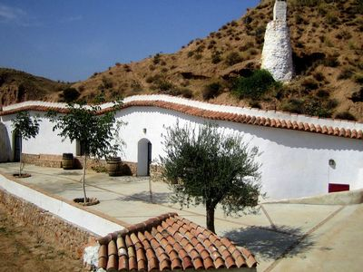 Photo for Eccentric Cave House in Lopera with Terrace