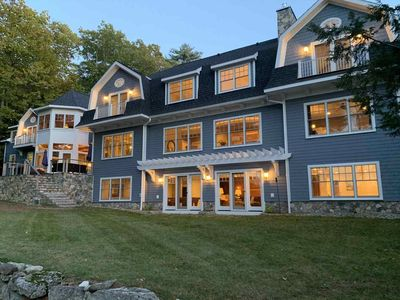 Photo for Amazing Waterfront Estate; over 2.5 private acres with over 260 Ft of shoreline
