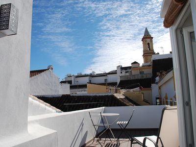 Photo for Lovely town house in pittoresque old center of Estepona