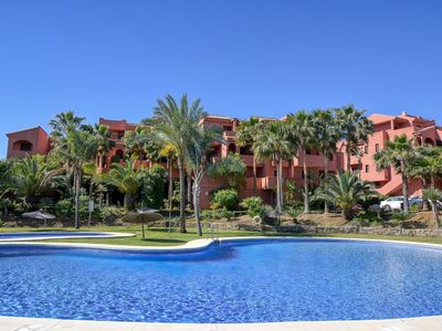 Photo for Three-bed apartment in Bahia Casares with stunning mountain views and sea views.