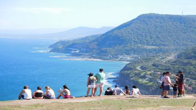 Views of the Illawarra from Stanwell Tops a pleasant short drive from property.