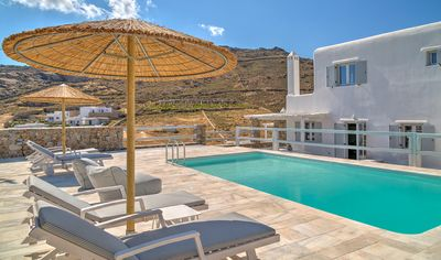 Photo for Luxury Villa Aura Mykonos, 3 Bedrooms, 3 Bathrooms Up to 8 Guests, a masterpiece of elegance