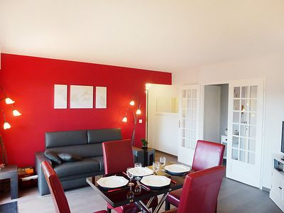 Photo for One bedroom Apartment, sleeps 4 in Deauville with WiFi