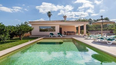 Photo for Villa Marisol - Modern Single Storey Villa with Private Pool, located in a pretty and rural area and within easy reach of Alcudia ! - Free WiFi