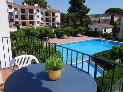Photo for Apartment at the residence Penya Golosa, very close to the center with swimming pool and tennis court