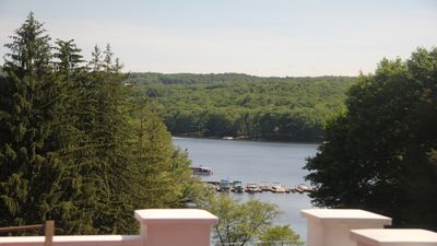 Photo for ROOM202 Luxurious Lakefront Home on Lake Wallenpaupack with Million Dollar Views